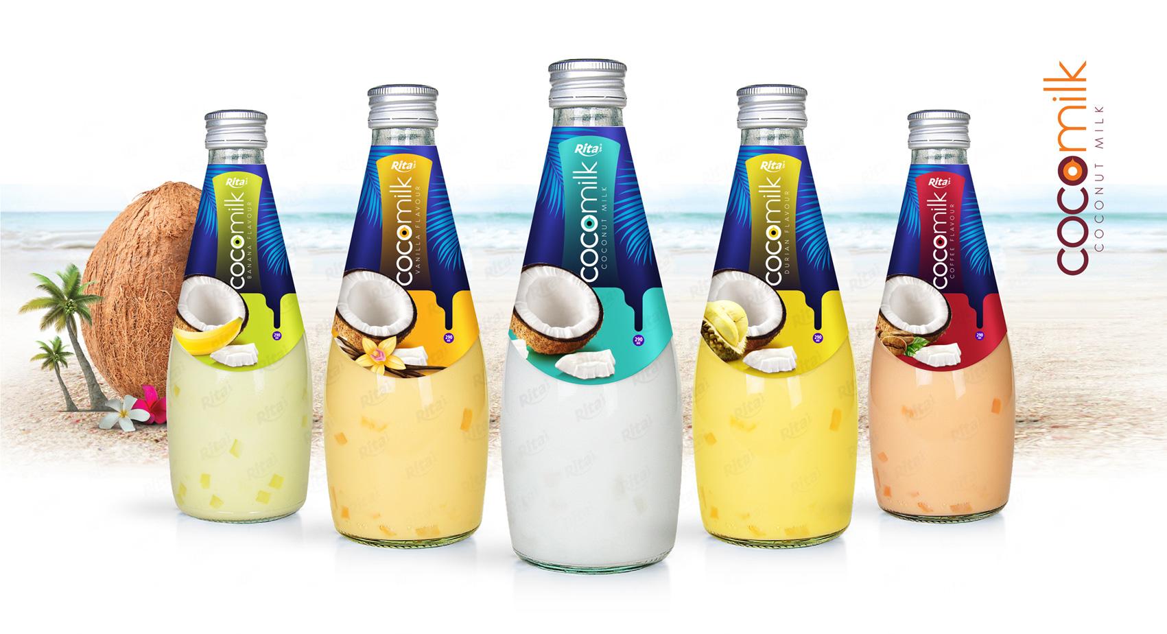 Natural Coconut milk  290ml