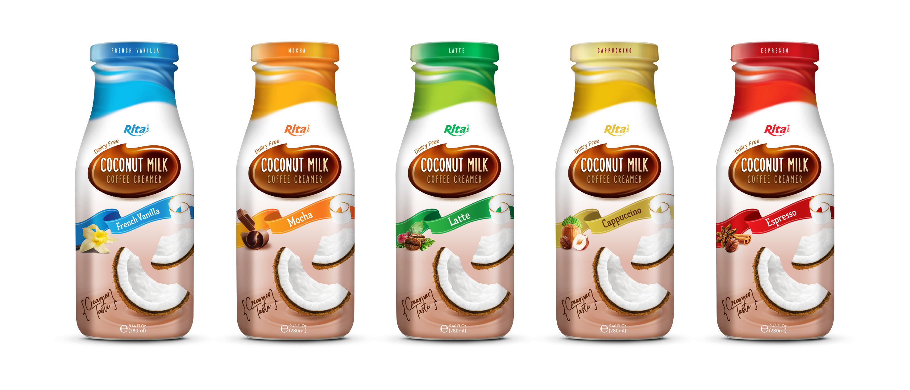 Wholesale Coconut milk Coffee Creamer280ml