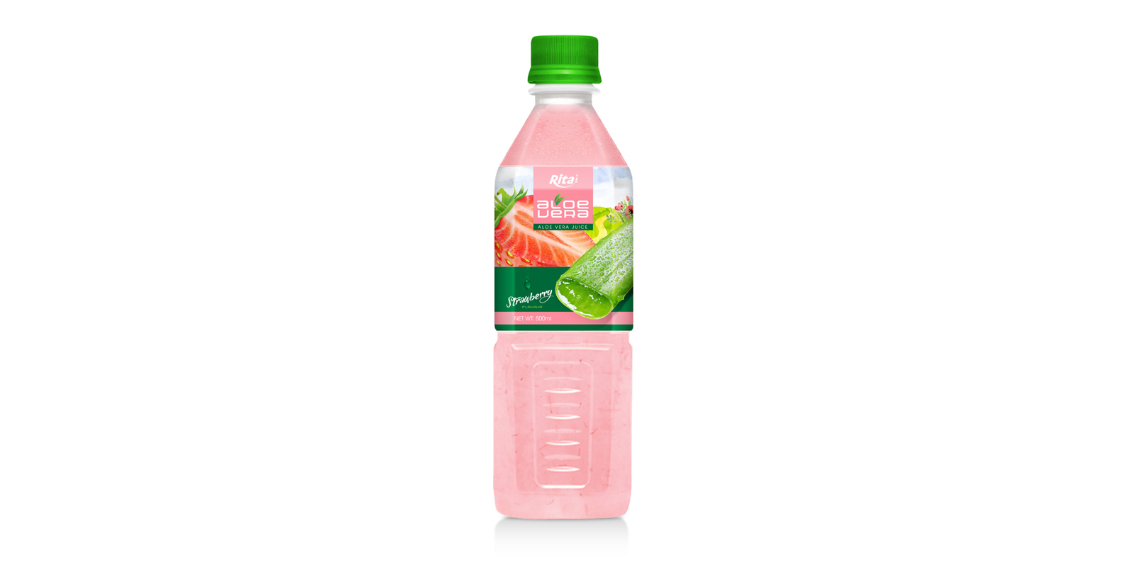 Aloe vera strawberry juice 500ml Pet Bottle