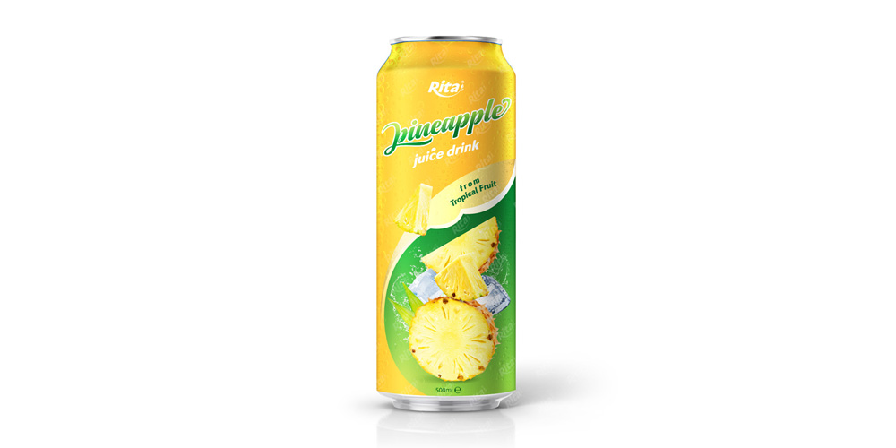 500ml pineapple juice  form tropical fruit