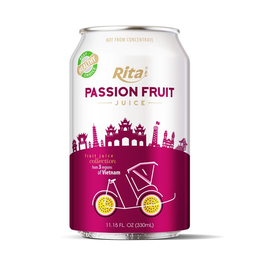 MANUFACTURER PASSION FRUIT JUICE DRINK 330ML CANNED
