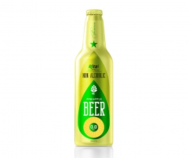 Aluminum Bottle 355ml Pineapple Beer Non Alcoholic