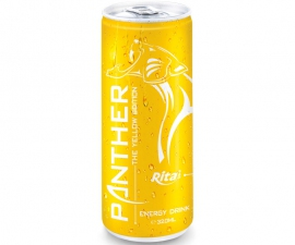320 ML ALU CAN PANTHER ENERGY DRINK 4