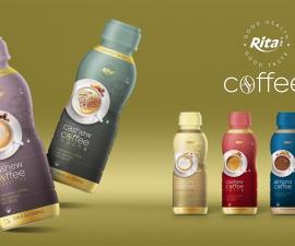 Wholesale beverage Cashew Coffee 330ml in  PP Bottle