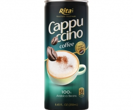 CAPPUCCINO COFFEE  250 ML CANNED MANUFACTURER
