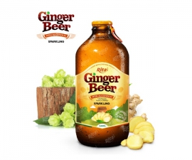 Ginger Beer 340ml glass bottle