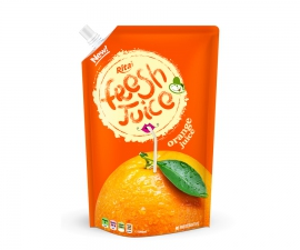 Bag orange juice 300ml