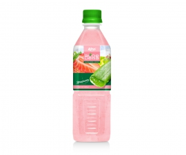 Aloe vera strawberry juice 500ml Pet Bottle