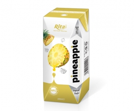 NFC fruit pineapple juice in Aseptic