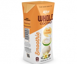 VANILLA CINNAMON COCONUT SMOOTHIE 200 ML ASEPTIC PAK