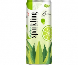SPARKLING ALOE VERA WITH LIME330 ML