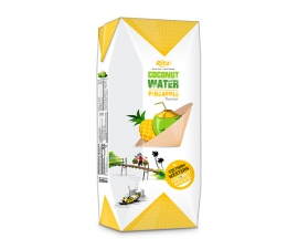 Paper box 200ml Coconut with pineapple