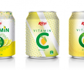 vitamin C drink 250ml can