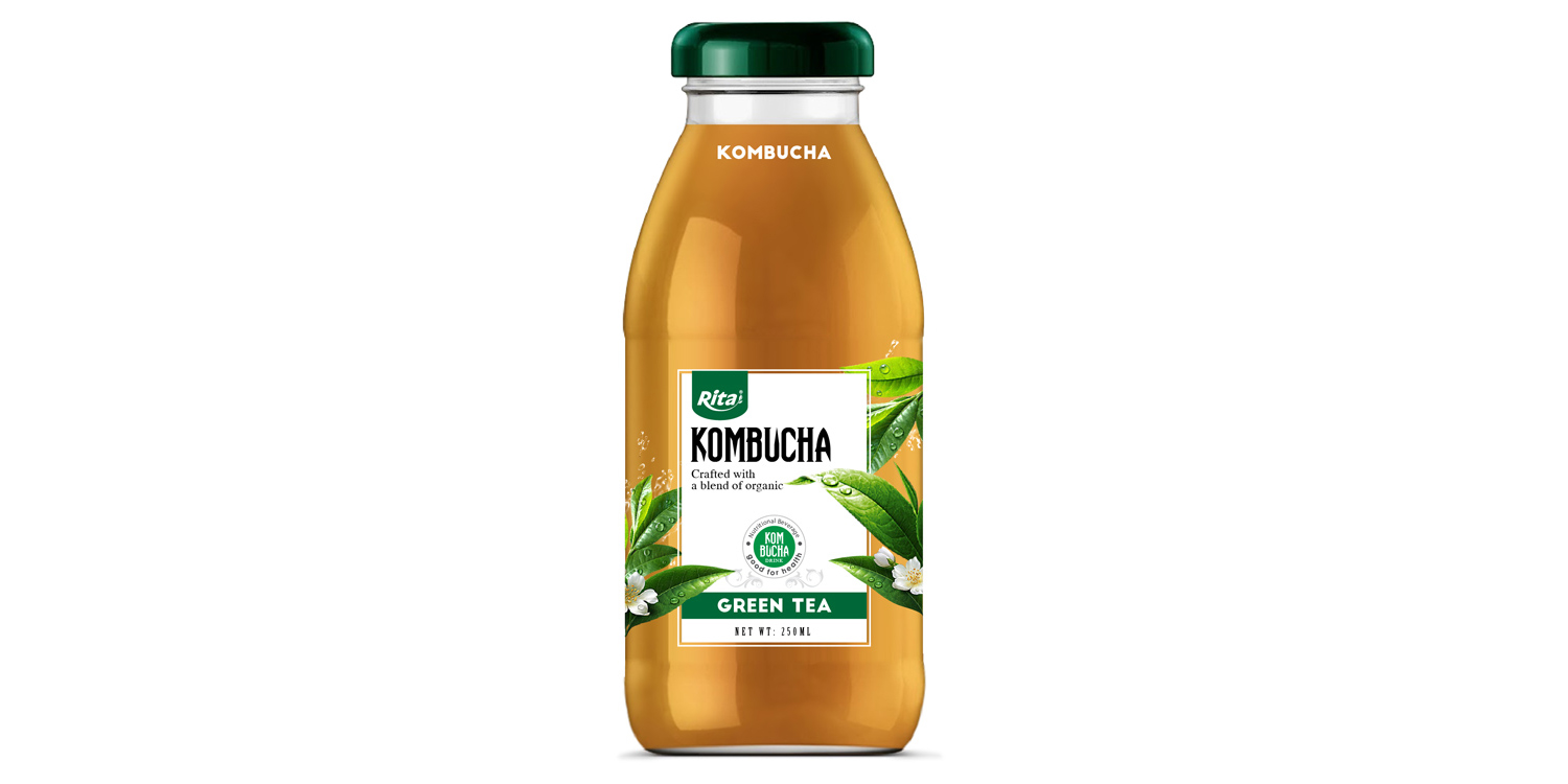 Green tea juice recipes Kombucha 250ml