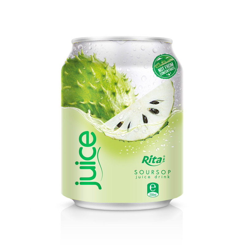 NATURAL VIETNAM TROPICAL 250 ML SOURSOP JUICE DRINK