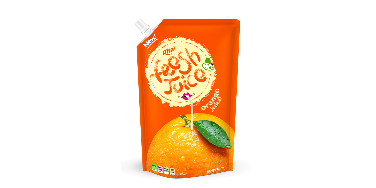 Bag orange juice 300ml