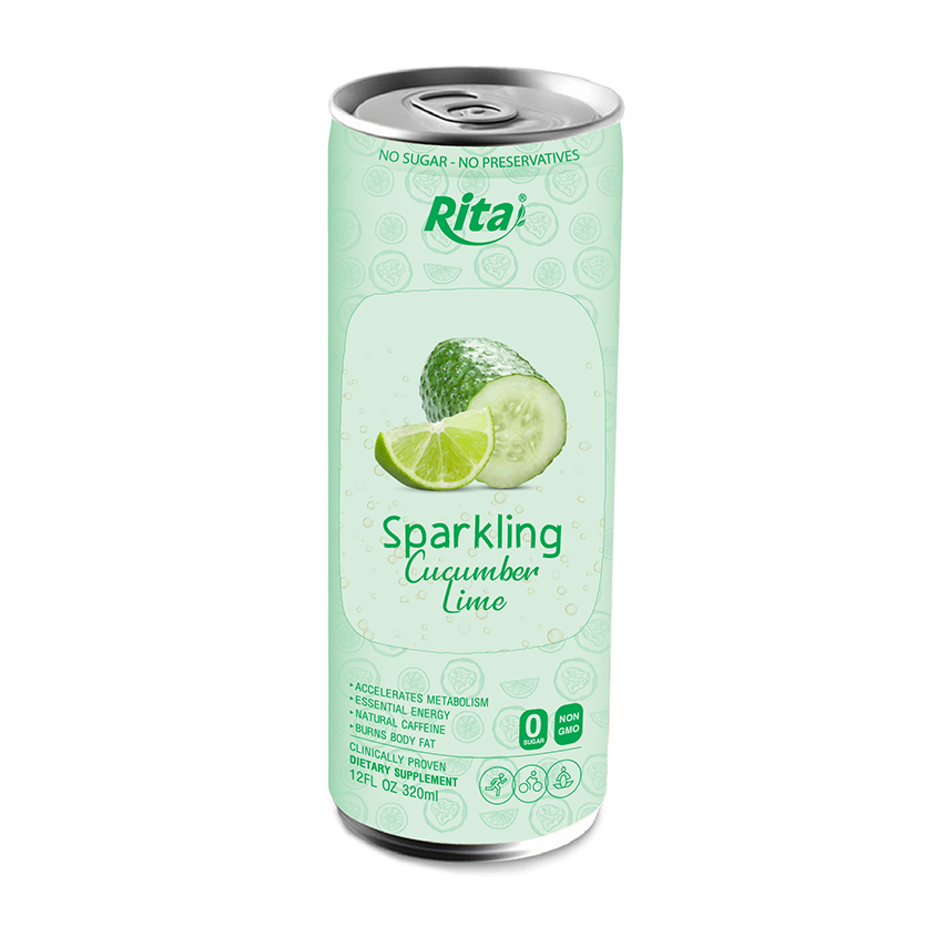 Rita Brand 250ml Canned Sparkling Lime juice drink