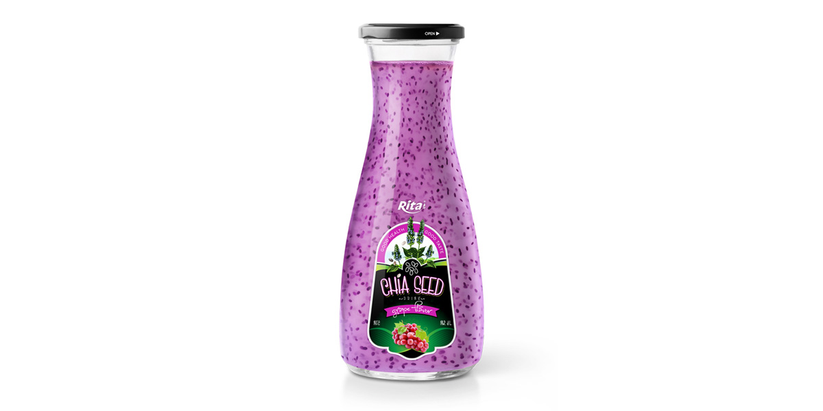 grape in Chia Seed drink  good health from Juice